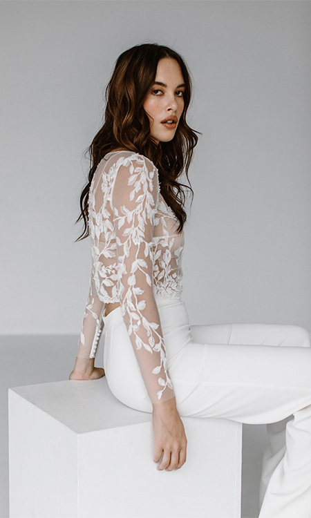 Kellylin Flora Long Sleeve Top